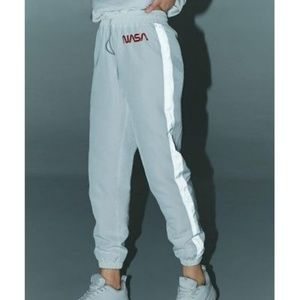 BRAND NEW Wind breaker Joggers with NASA lettering